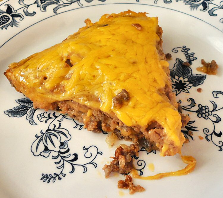 cheeseburger pie 1 pound ground beef 1 small onion chopped about 2 1 2 ...