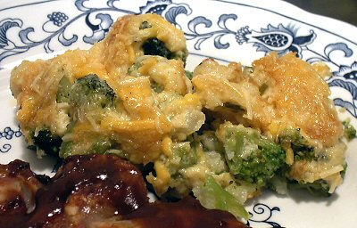 BROCCOLI-AND-CAULIFLOWER GRATIN