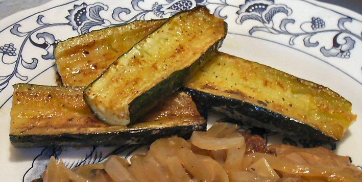 BROILED ZUCCHINI - Linda's Low Carb Menus & Recipes