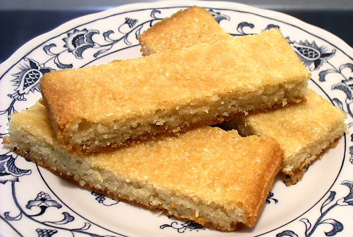 Buttery Almond Bars Low Carb
