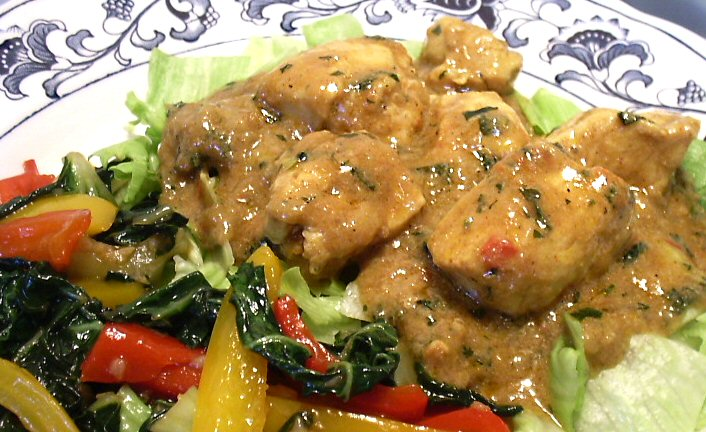 Chandran s chicken curry linda s low carb menus amp recipes