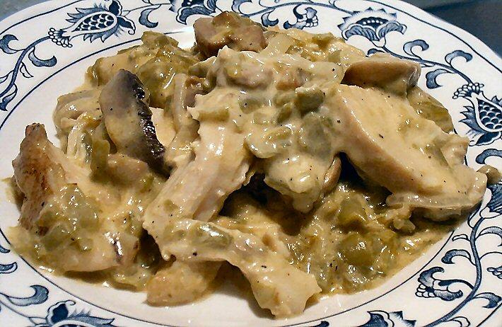 chicken green bean casserole 3 14 25 ounce cans french cut green beans ...