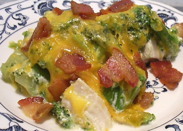cheesy chicken broccoli casserole 2 cups diced cooked chicken 8 ounces ...