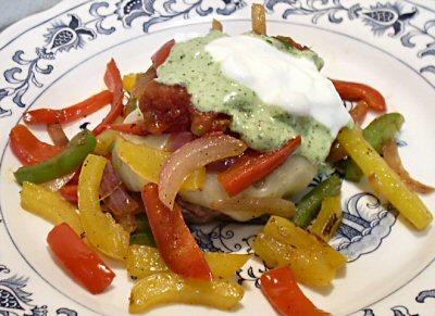 FAJITA BURGERS - Linda's Low Carb Menus & Recipes