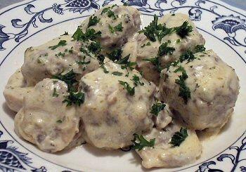 German Meatballs Linda S Low Carb Menus Amp Recipes