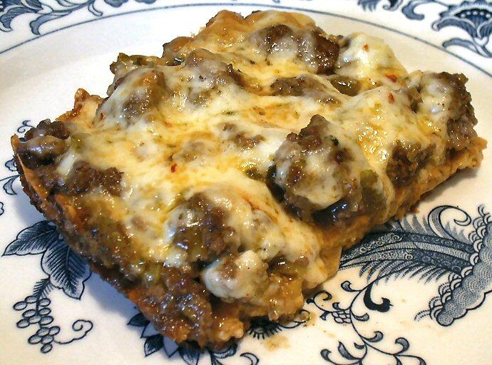 GREEN ENCHILADA BAKE - Linda's Low Carb Menus & Recipes