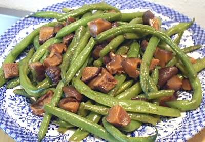 beans with mushroom and szechuan string beans 20 green beans with sage ...