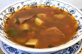 HUNGARIAN GOULASH SOUP - Linda's Low Carb Menus & Recipes