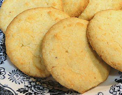 LEMON BUTTER COOKIES - Linda's Low Carb Menus & Recipes