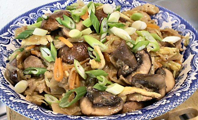 MU SHU PORK - Linda's Low Carb Menus & Recipes