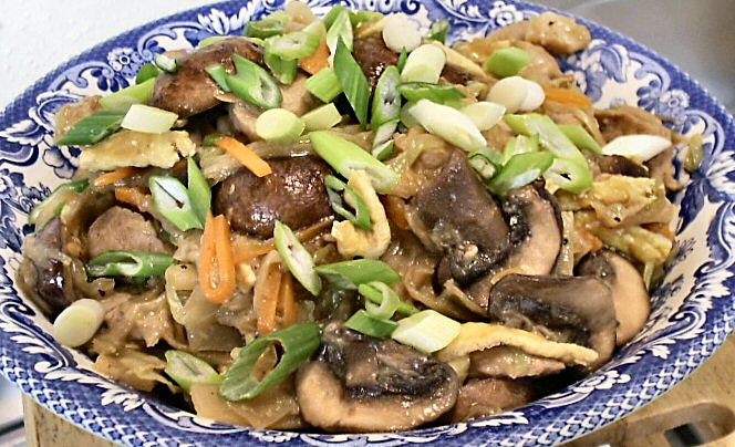 Moo Shu Pork Recipe — Dishmaps