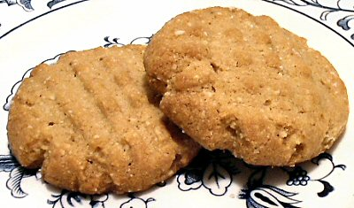 Carbs in peanut butter cookie