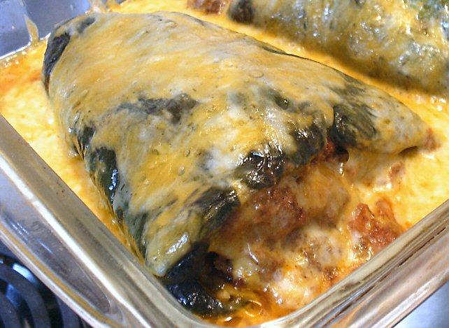 Stuffed Poblano Chiles Linda S Low Carb Menus Amp Recipes