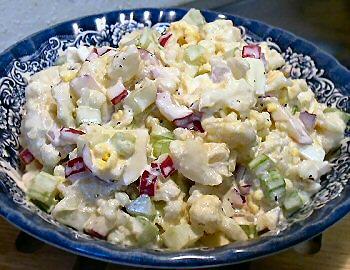 Салат из цветной капусты Салаты из капусты